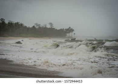 monsoon wind storm Myanmar seacoast