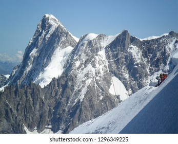 Mont Blanc. The Alps.