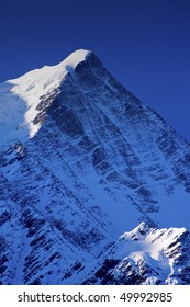 Mont Blanc, Chamonix, French Alps. France.