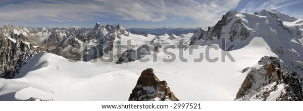 Mont Blanc Panorama.