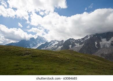 Mont Blanc - Val Ferret
