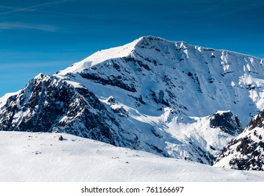 Mont Buet near Chamonix in the French Alps is used as a training climb for Mont Blanc.  It is often called 'Mont Blanc Des Dames'