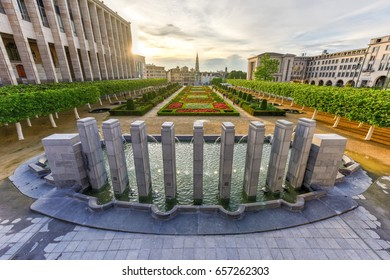"""Mont des Arts in Brussels, Belgium meaning """"hill/mount of the arts"""", is a historic site in the center of Brussels, Belgium."""