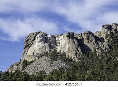 Mont Rushmore National Memorial South Dakota