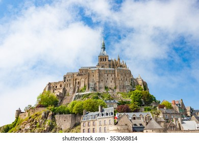 The Mont Saint-Michel fortress and abbey