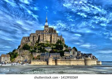 Mont Saint-Michel , Normandy, France