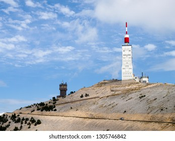 Mont Ventoux, France: local scenery and Provencal villages