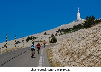 The Mont Ventoux located in the provence in the south of France for many cycling enthusiasts
