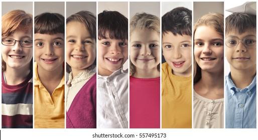 Montage about children