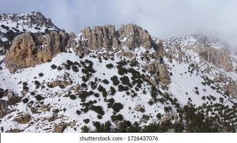 Montain rage of Sierra Serrella in Alicante, Spain.