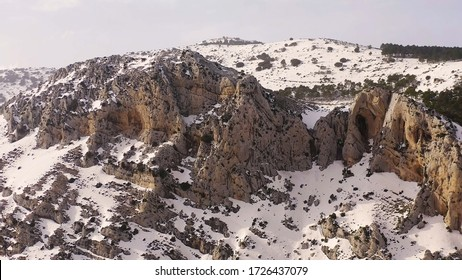Montain rage of Sierra Serrella in Alicante, Spain.