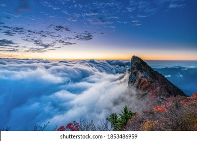 montain sky beautiful place clouds