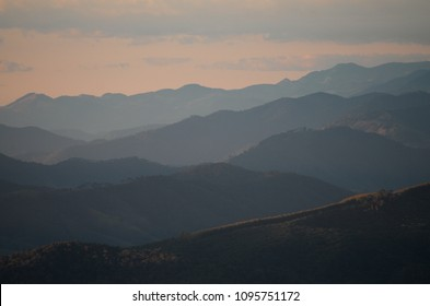 Montains in layers - Brazil - Minas Gerais - Mantiqueira.