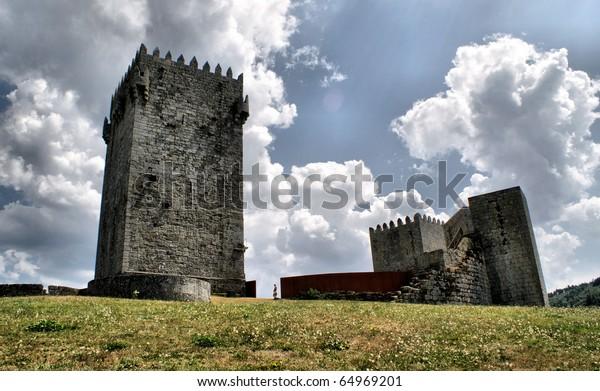 Montalegre castle, north of Portugal