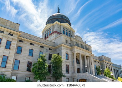 Montana State Capital Building in Helena Montana