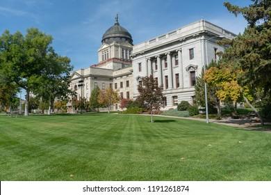 Montana State Capitol in Helena Montana