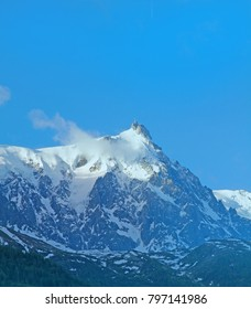 Montblanc view France