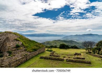 Monte Alban Oaxaca, Mexico
