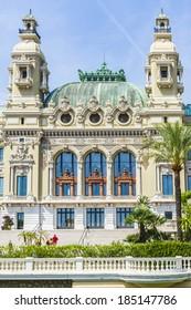 Monte Carlo Casino is a gambling and entertainment complex located in Monte Carlo, Monaco. Complex includes a casino and Grand Theatre de Monte Carlo. Architect - Charles Garnier. Fragment of Opera.