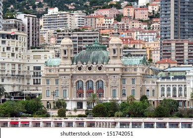 Monte Carlo Casino and Grand Theatre de Monte Carlo, Monaco