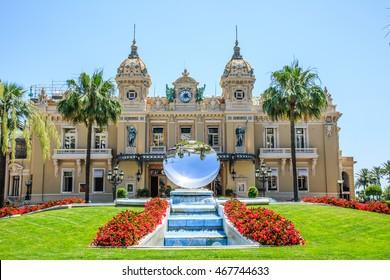 Monte Carlo Casino square front day view
