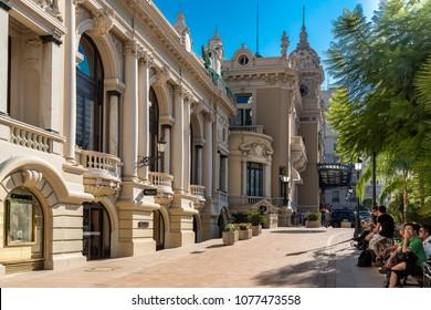 Monte Carlo, France - September 23, 2013: Central Casino of Monte Carlo.