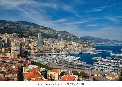 Monte Carlo, Monaco landscape