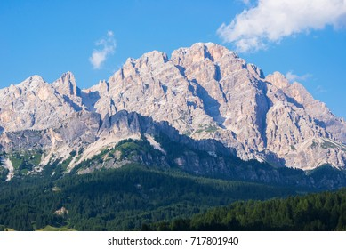 Monte Cristallo is 3221m high mountain northeast of Cortina.