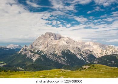 Monte Cristallo, Dolomites mountains, Italy