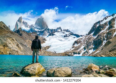 Monte Fitz Roy (also known as Cerro Chaltén, Cerro Fitz Roy, or simply Mount Fitz Roy) is a mountain in Patagonia, on the border between Argentina and Chile. It is located near the town of El Chaltén.