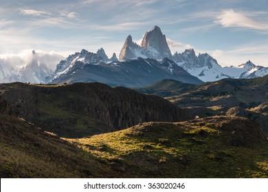 Monte Fitz Roy panorama, Patagonia, Argentina