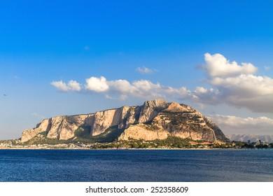 Monte Gallo at Mondello, near Palermo, Sicily