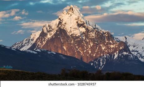 Monte Olivia  in Ushuaia, Patagonia Argentina
