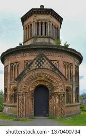 The Monteath Mausoleum at Glasgow Necropolis, Scotland