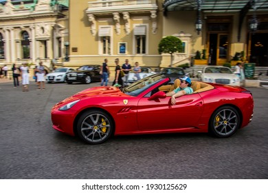 Montecarlo, Monaco - 09 05 2014: Dreamcar from the streets of Montecarlo
