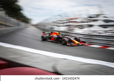 Monte-Carlo, Monaco. 26/05/2019. Grand Prix of Monaco. F1 World Championship 2019. Max Verstappen, Red Bull.