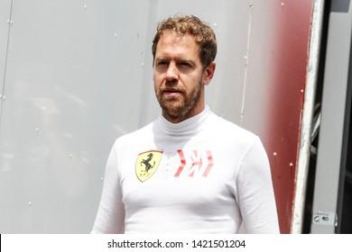 Montecarlo, Monaco. 26/05/2019. Grand Prix of Monaco. F1 World Championship 2019. Sebastian Vettel, Ferrari.