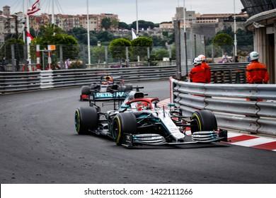 Montecarlo, Monaco. 26/05/2019. Grand Prix of Monaco. F1 World Championship 2019. Lewis Hamilton, Mercedes, winner of Monaco Grand Prix.