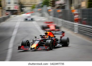 Montecarlo, Monaco. 26/05/2019. Grand Prix of Monaco. F1 World Championship 2019. Max Verstappen, Red Bull.