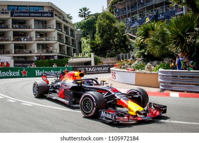 Monte-Carlo, Monaco. 27/05/2018. Grand Prix of Monaco. F1 World Championship 2018. Daniel Ricciardo, Red Bull, winner of Monaco Grand Prix.