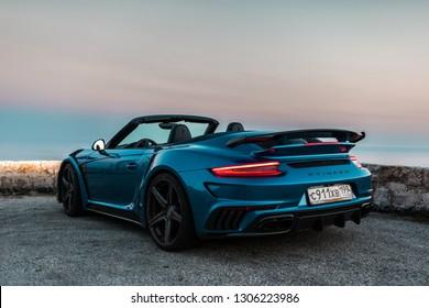 Blue Porsche Images Stock Photos Vectors Shutterstock