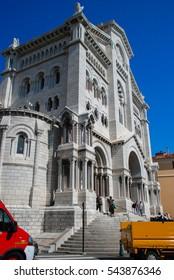 Monte-Carlo, Monaco, France - September 25, 2009: Saint Nicholas Cathedral in Monte Carlo, Monaco