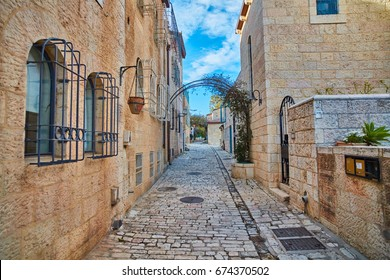 Montefiore Residential area near the old city of Jerusalem