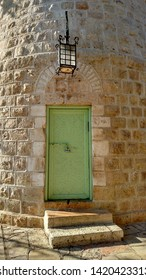 Montefiore windmill, Jerusalem. It is a famous museum and public domain place in Israel.