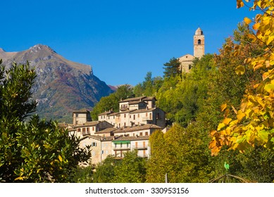 Montefortino is a medieval comune (municipality) in the Province of Fermo in the Italian region Marche - Italy.