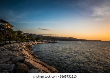 Montego Bay Jamaica Evening Sunset