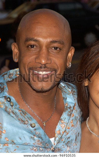 MONTEL WILLIAMS at the Los Angeles premiere of The Manchurian Candidate. July 22, 2004