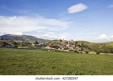 Montella, typical village mountain of Cerdanya, Catalonia (Spain)