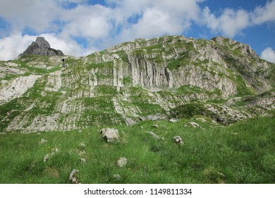 Montenegro. Durmitor National Park. Durmitor is a mountain and t