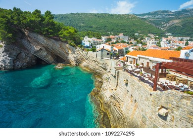 Montenegro. July 22, 2017. Castello - an old Venetian fortress from the XVI century in Petrovac
